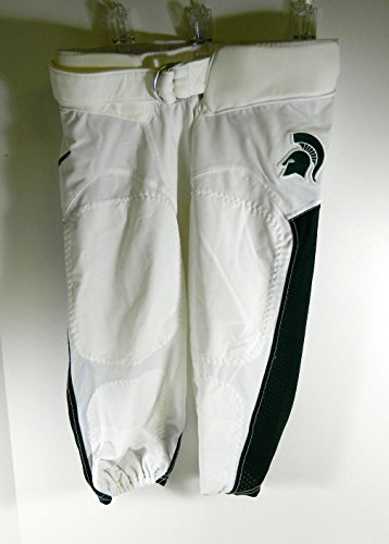 (Michigan State Spartans Football Game Issued White Pants Size:26 MSU00060 SKU: MSU00060)