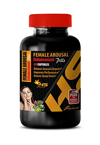 Boost Sex Drive for Women Natural - Female Arousal Enhancement Pills - AROUSES Sexual Desire - Horny Goat Weed Extract with maca & tribulus - 1 Bottle 60 Capsules