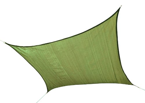 UPC 677599256769, ShelterLogic 25676 230 GSM Square Shade Sail, 12-Feet, Lime Green