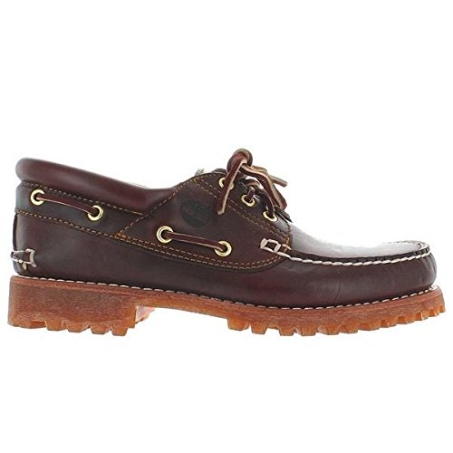Timberland Men's Classic 3 Eye Lug Boat Shoe,Brown,10 M US by Timberland