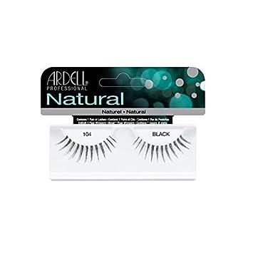 916efee66bb Amazon.com : Ardell Fashion Lashes 104 Black : Fake Eyelashes And Adhesives  : Beauty