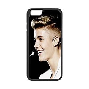 """Popular Singer Justin Bieber Pattern Productive Back Phone Case For Apple Iphone 6,4.7"""" screen Cases -Style-4"""