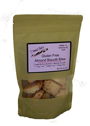 Donna Joy's Gluten Free Almond Biscotti Bites (Almond Gluten Free Biscotti)