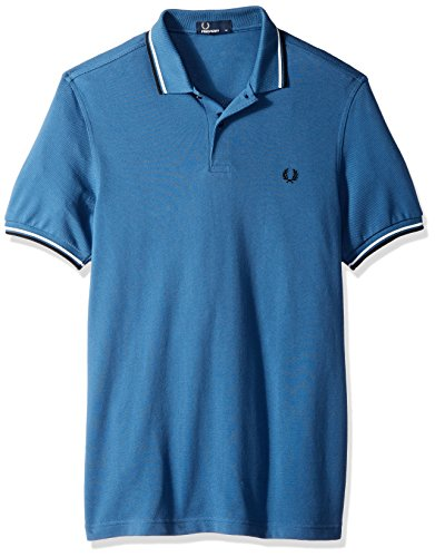 Fred Blue Polo Tipped Twin Fp Perry Uomo Midnight Z4x0rZS