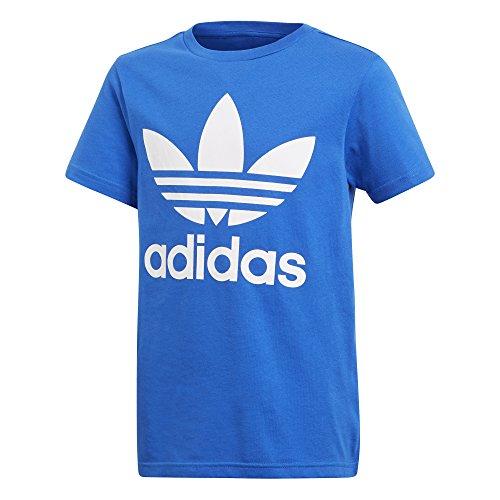 Price comparison product image adidas Originals Kid's Originals Trefoil Tee Shirt, Blue/White, M