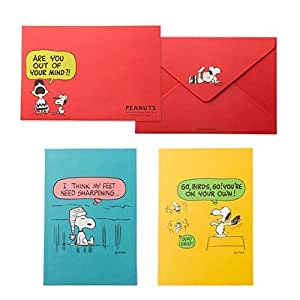 Snoopy Peanuts Letter Set Writing Paper Envelope Yellow