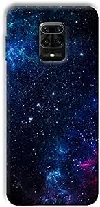 case box Galaxy 2 back cover for Xiaomi Redmi Note 9 Pro