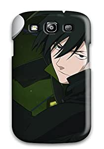 Evelyn C. Wingfield's Shop 3229824K86746825 Scratch-free Phone Case For Galaxy S3- Retail Packaging - Darker Than Black