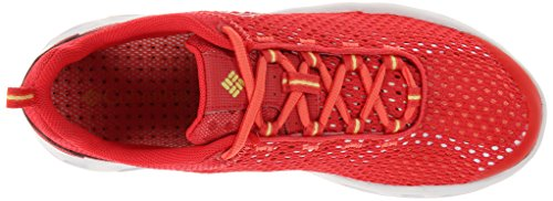 Columbia DRAINMAKER III - Zapatos de Aqua de material sintético mujer Rojo (Red Hibiscus, Sunnyside 676)