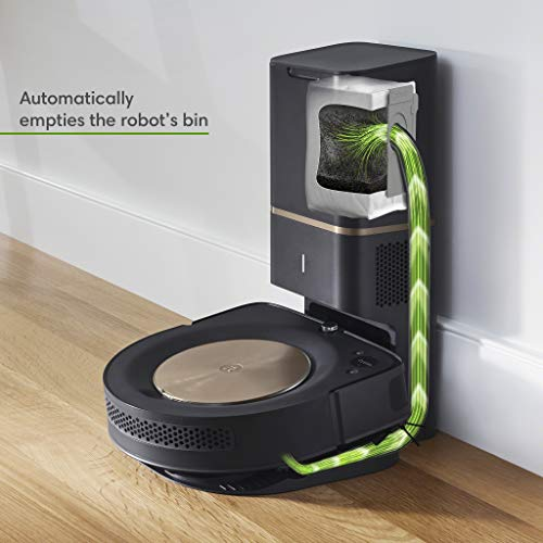 iRobot Roomba s9+ (9550) Robot Vacuum with Automatic Dirt Disposal- Wi-Fi Connected, Smart Mapping, Powerful Suction, Anti-Allergen System, Corners & Edges, Ideal for Pet Hair