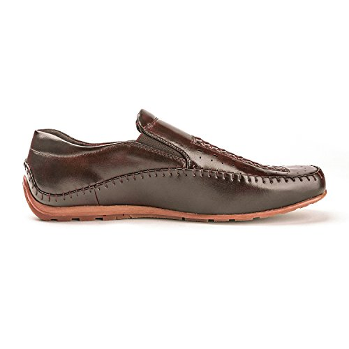 08 Pepe Men's Moccasins dark Bruno Penny brown Marc 8 Shoes Loafers tw7Wq1E
