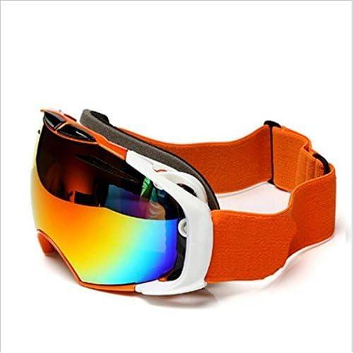 ZHAS lunettes de ski escalade peut accueillir la myopie sphérique grand double couche ANTIBUÉE lunettes de ski