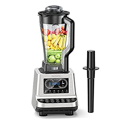 Elechomes CHS2001 1600W Professional Blender Food Processor for Ice, Smoothies, Vegetable, Fruit