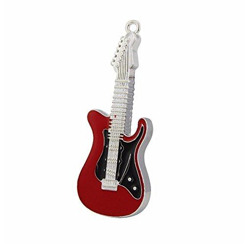 32GB USB 2.0 Flash Drive Metal Music Guitar Shaped Pen Drive Memory Stick Thumb Drive