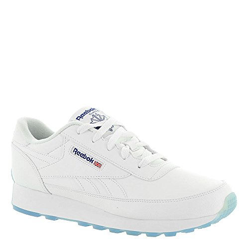 Reebok Women's Classic Renaissance Ice Wide D Sneaker White/Team Dark Royal Ice - Wide D low shipping sale online outlet the cheapest low shipping fee cheap online o5M8GAGEM3