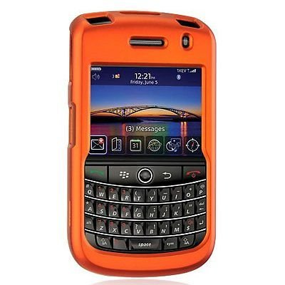Hard Rubberized Case for Blackberry Tour 9630/9650 - Orange