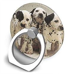 Universal Phone Ring Bracket Holder Dalmatian Puppy Finger Grip Stand Holder Ring Car Mount Phone Ring Grip Smartphone Ring Stent Tablet