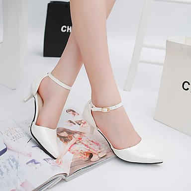 CN35 Party UK3 Stiletto Buckle US5 Dress T Evening Leatherette Walking 5 Summer amp; Women'sHeels Strap FYios Outdoor 5 EU36 Heel RTHYqH
