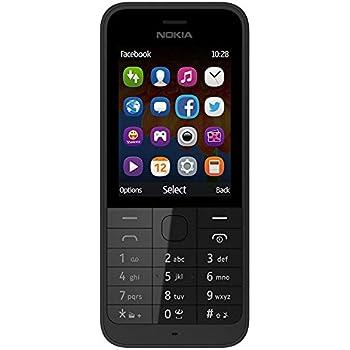 Amazon com: Nokia 206 Asha Dual Sim Unlocked Mobile Phone: Cell