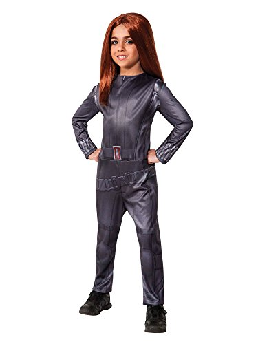 Rubies Captain America: The Winter Soldier Black Widow Costume, Child Small -