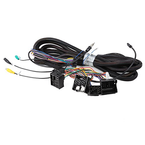 Eonon A0579 Extended Installation Wiring Harness for Eonon Product BMW E46/E39/E53 Wiring Cable 17 pin+ 40 pin Work with Eonon Head Unit GA6150/GA6201/GA6166 by Eonon