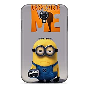 Samsung Galaxy S4 RDP17949TdAU Support Personal Customs Attractive Despicable Minion Pictures Shock Absorbent Hard Cell-phone Case -MarieFrancePitre
