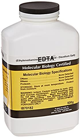 IBI Scientific IB70182 EDTA, DiSodium Salt, 500gm - Edta Disodium Salt