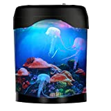 Gift for Kids Men Women Birthday Christmas Holiday - Electric Jellyfish Tank Aquarium Lamp for Home Decoration