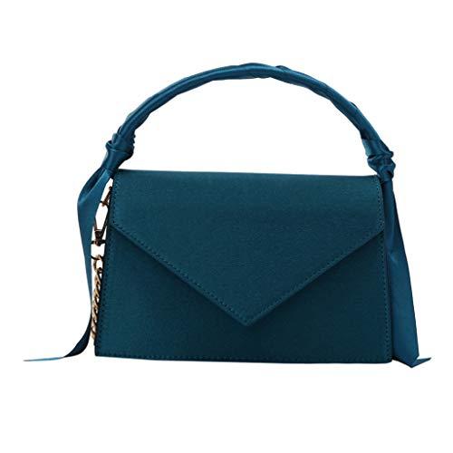 Longra bolso de Cinta de Color Liso para Mujer, Vestido de ...