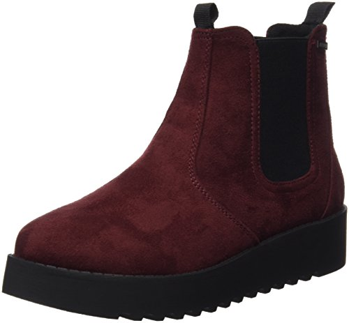 MTNG Collection 53997 - Botas Chelsea para mujer Rojo (Soft Burdeos)