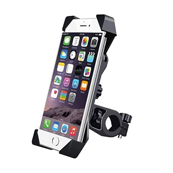 HUMBLE Universal 360 Degree Adjustable Mobile Phone Holder for Bicycle   Bike   Motorcycle   Ideal for Maps   Navigation