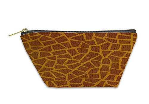 Gear New Accessory Zipper Pouch, Giraffe Leather Or, Small, 3519357GN by Gear New