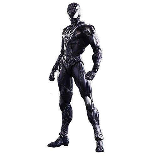 - Square Enix Marvel Universe Spider-Man Black Variant Play Arts Kai Action Figure