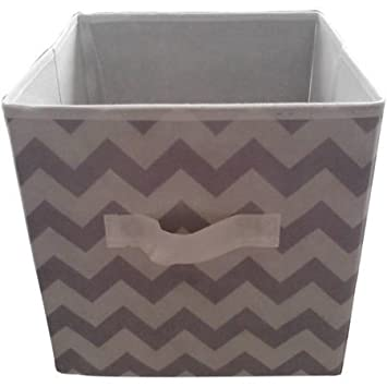 Multi Functional ,Durable Mainstays Collapsible Fabric Storage Cube, Set Of  2 , Multiple Colors