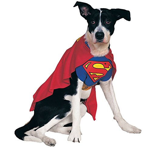 Superman Costume For Dogs (Superman Dog Costume Xlarge)