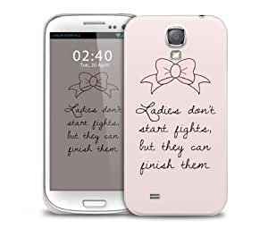 marie quote Samsung Galaxy S4 GS4 protective phone case