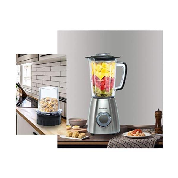 SLRMKK Macchina spremiagrumi, spremiagrumi per Frutta e Verdura, spremiagrumi centrifuga e frullatore da banco 2… 6 spesavip