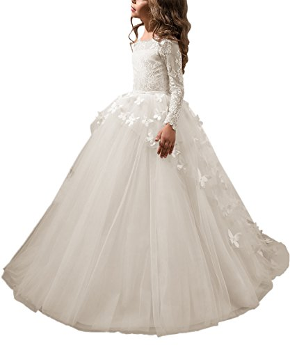 Abaowedding Lovely First Communion Dress Long Sleeves Prom