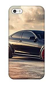 For Iphone 5/5s Fashion Design Mercedes Benz C63 Black Series Roads Vehicles C Cars Mercedes Case-reSsoTl3226MfUDC