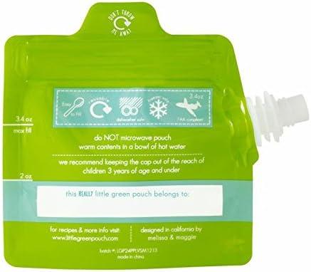 Pack 6 Gourdes little green Pouch 100 ml