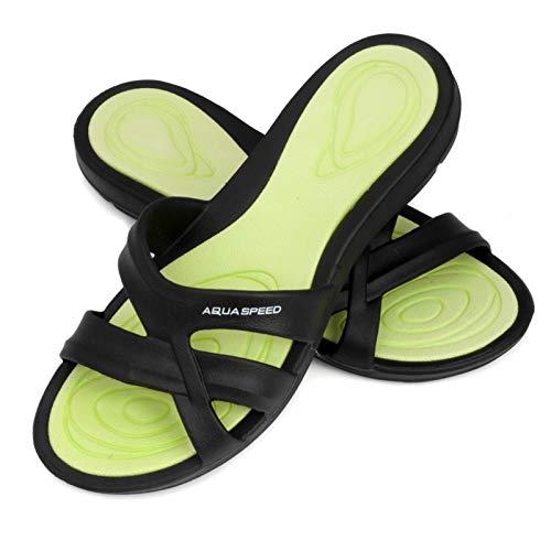 Donna Speed Aqua Pool green Black Panama Scarpe dpwrg6qxwI
