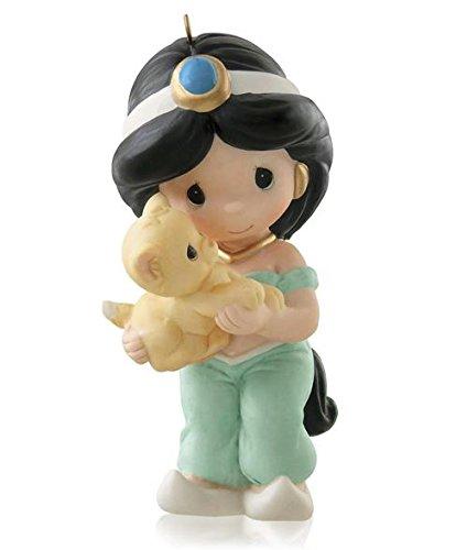 Hallmark 2014 Limited Edition Jasmine and Rajah Disney Aladdin Ornament