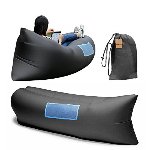 inflatable hangout lazy bag sofa lounger high quality. Black Bedroom Furniture Sets. Home Design Ideas