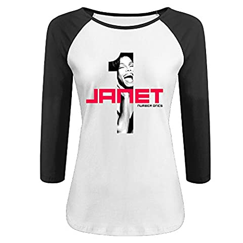 For Women JanetJ Ackson Half Sleeve T Shirt Printing T Shirts (Would You Mind Janet Jackson)