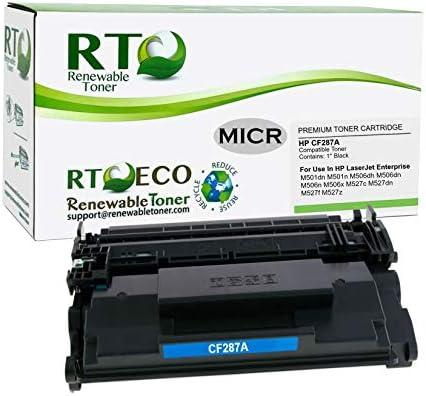 Renewable Toner Compatible MICR Cartridge High Yield Replacement for HP 81X CF281X Laserjet M605 M606 M630