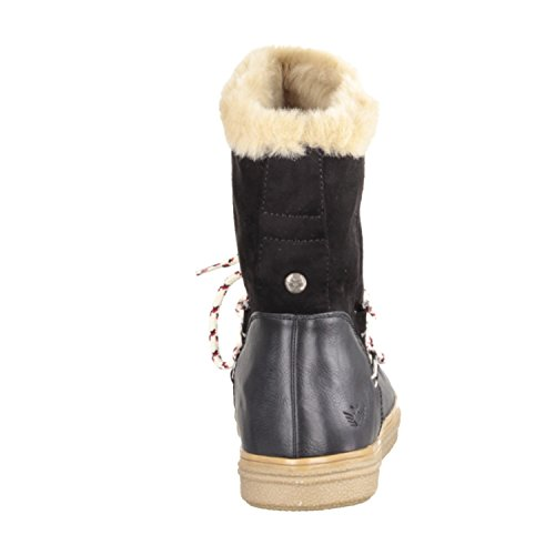 Preußen black Boot Winter Fritzi aus Fur3 15w6nYq