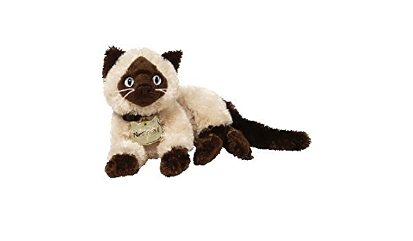 Ty 40109 - Peluche del gato Nermal de Garfield (relleno de bolitas ...