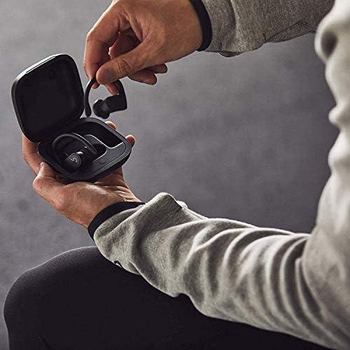 Powerbeats Pro Wireless Earphones - Apple H1 Headphone Chip, Class 1 Bluetooth, 9 Hours of Listening Time, Sweat Resistant Earbuds, Built-in Microphone - Black