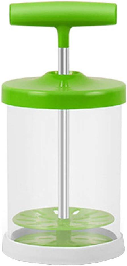 Manual Milk Frother, ABS Hand Pump Cream Whipper Handheld Milk Frothing Pitchers, Milk Blender, Milk Foam Maker for Shop Kitchen