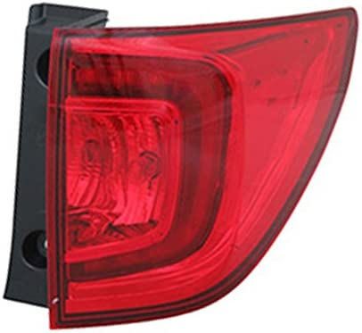 OEM Honda Pilot Outer Left Driver Side Qtr Mounted Tail Lamp 33550-TG7-A110